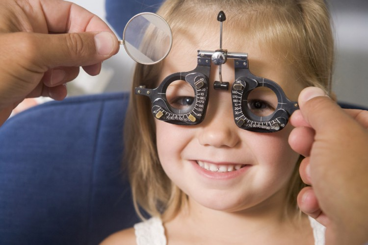 Symptoms and cause of losing the Children's Vision