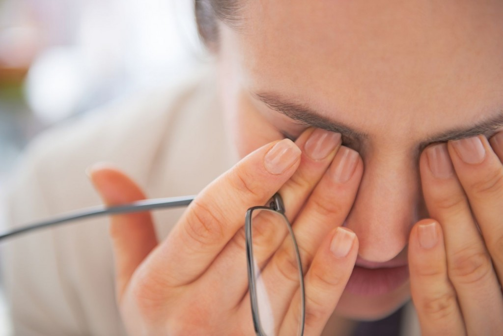 Warning signs of eye trouble